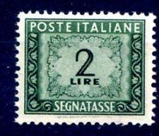 ITALIA 1947 - SEGNATASSE   2  Lire  RUOTA  NUOVO **