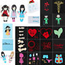 Girl Metal Cutting Dies Stencil Scrapbook Paper Embossing Craft Album Decor