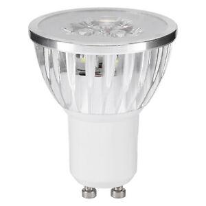 10x 3W GU10 LED Bulbs Spotlight Lamps Energy Saving Bulb=50W Daylight 5000K