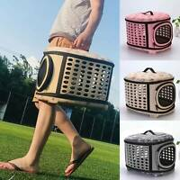 Pet Dog Cat Portable Travel Carrier Tote Cage Bag Crate Kennel Box Holder