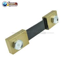 100A 75mV Shunt Resistor for DC Current Meter Amp Analog Panel Ammeter Metal