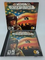 Conflict: Desert Storm (PC, 2003) Complete Windows Global Star Computer Game