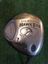 New listing RH Callaway Big Bertha VFT Hawkeye 7 Wood ⛳️ Ladies Flex Graphite #R198