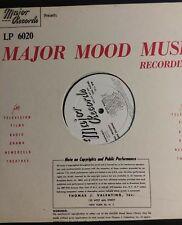 Major Mood Music Recordings LP #6020. For Television, Films, Radio, Drama,