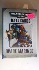 Space Marines Datacards NEW! Warhammer 40,000 sealed Games Workshop