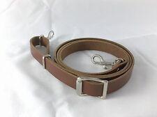 Regolabile spalla in pelle/Borsa a tracolla Cinturino/Dark Tan