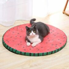 Watermelon Washable Pet Cat Dog Sleeping Bed Mat Summer Cooling Cushion Soft Pad