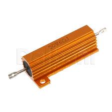 50W 6ohm Wirewound Power Resistor Aluminum Housing Chasis Mount