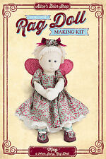 Sewing a Rag Doll Kit - Meg with Fairy Outfit - 54cm when made