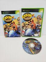 Crash Nitro Kart (Microsoft Xbox, 2003)  Complete with Manual Tested
