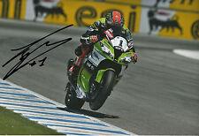 Tom Sykes Hand Signed Kawasaki Racing 12x8 Photo 2.