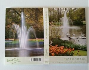 10 Pack Blank Notecards Note Cards Notelets Fountain scenes Size 94 x 144mm