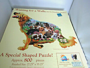 Puzzle Waiting for a Walk Dog Shaped Puzzle Awesome Jigsaw Puzzle 800 Pieces