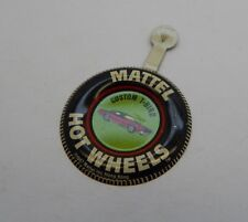 Redline Hotwheels Button Badge Metal Hong Kong Custom T-Bird R17219