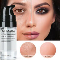 Brightening Skin Face Primer Foundation Gel Base Make Up Cream Invisible Pores