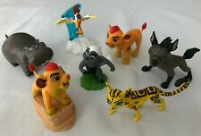 Collection of Disney LION GUARD figures