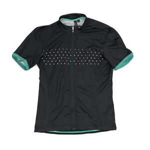 Specialized RBX Comp Cycling Jersey Womens size Small Blue Teal Reflective