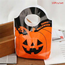 10pcs Halloween Easter Party Pumpkin Ghost Candy Bag Baking Cookies Box Home np