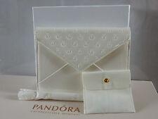Authentic Pandora Avorio brevetto frizione bag borsa