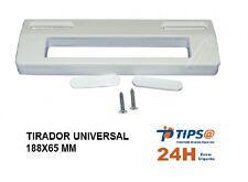 MANETA TIRADOR UNIVERSAL FRIGORIFICO BLANCO Medidas 188x65 mm