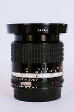 Nikon NIKKOR 28mm f/2.0 AI-S Lens