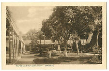 EGYPT ISMAILIA OFFICES OF THE CANAL COMPANY VINTAGE POSTCARD
