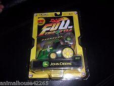 2005 ERTL Diecast 1/64 John Deere Farm Tractor Full Throttle Barn Burners