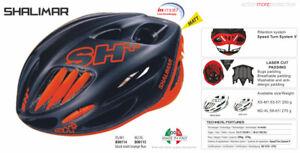 SH+ (SH Plus) Shalimar Bicycle Helmet-Matte Black/Orange L/XL (Was $249.99) kask