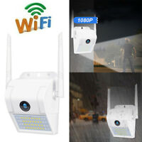 1080P WIFI Lamp Waterproof Outdoor Wireless Wall Light Night Vision Camera