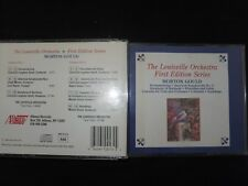 COFFRET 2 CD THE LOUISVILLE ORCHESTRA / FIRST EDITION SERIES / MORTON GOULD /
