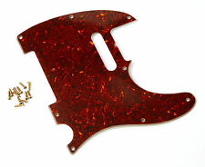 Aged Tortoise Real Celluloid 62 TL Pickguard Montreux Retrovibe fits Telecaster®
