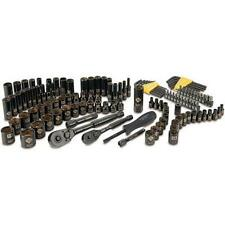 Stanley 123-Piece Black Chrome Socket Set, STMT72254 NEW