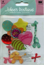 Jolee's Boutique (BIRTHDAY BALLOONS) Dimensional Scrapbooking Stickers AL-211