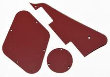 LP Pickguard Control Plate Switch Cavity Covers for Gibson Les Paul Red 3 Ply