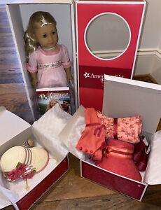 NEW!!! American Girl Doll Beforever CAROLINE ABBOTT, Meet Accessories, Hat ..