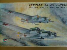 Maquette Avion MPM 1/48 Ref 48021 Tupolev SB-2M 103/Bis (vacuform)