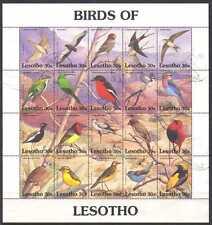 Lesotho 1992 Birds/Raptors/Falcon 20v sht vfu (n21922)