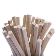 50 Wooden Square Section Toffee Apple Sticks