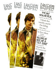 Landon Pigg The Boy Who Never 4 Promo Stickers for cd Mint