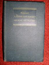 Blakiston's Illustrated Pocket Medical Dictionary - 1952