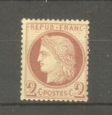 "FRANCE STAMP TIMBRE N° 51 "" CERES 2c ROUGE-BRUN "" NEUF xx TB"