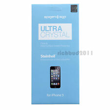 GENUINE SGP iPhone 5 Ultra Crystal Clear LCD Screen Protector Film
