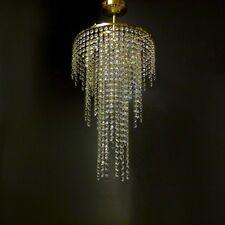 Brass Gold Lead Crystal Glass Chandelier Ceiling Light Lamp Lighting MOSS30MIX