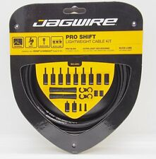 Jagwire Pro Shift Cable Kit for Road / Mountain Fits SRAM Shimano Shifter Black