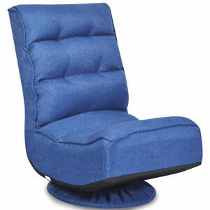Lounge Sofa Adjustable Cushion Lazy Recliner Gaming Folding Floor Chair