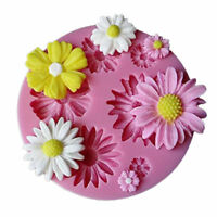 Flower Fondant Cake Mold Silicone Mould Sugarcraft Baking Decorating Tools 0126R