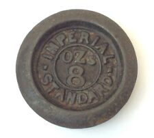 Imperial Standard 8 Ounce Iron Metal CR Crown 22 37 Scale Weight Part