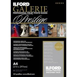 Ilford GALERIE Complete Discovery Pack DIN A4, 50 Blatt, Testpackung