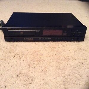 Vintage NEC Black Compact Disc CD Player CD-530