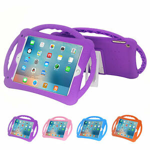 "For iPad Pro 10.5 Air 3/2 6th 5th 9.7"" Mini 5/4/3/2/1 Kid Foam Handle Stand Case"